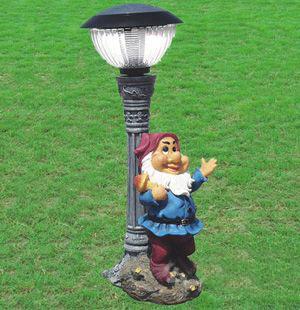 Nain de jardin lumineux
