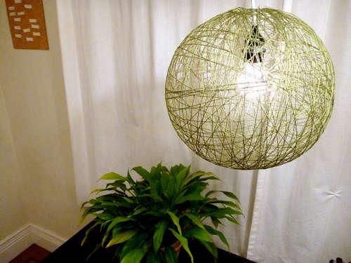 fabriquer une lampe originale et unique blog conseils. Black Bedroom Furniture Sets. Home Design Ideas