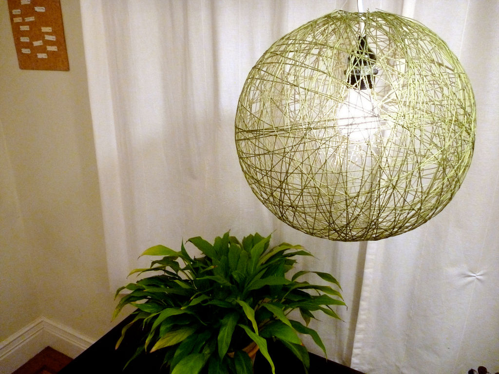 lampe fil ballon colle