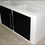 meuble aquarium beton cellulaire