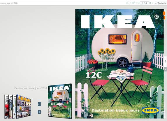 nouveau catalogue ikea printemps été 2010