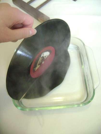 faire fondre vinyle