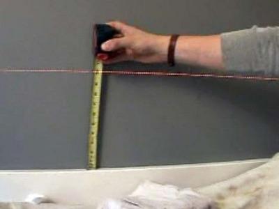 comment peindre des bandes sur un mur | conseils et astuces