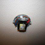 Fixer transfo pour spots sur câble
