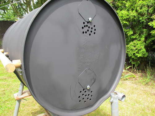 Comment fabriquer un barbecue couvercle type weber for Chauffer piscine au bois