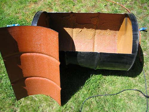Comment fabriquer un barbecue couvercle type weber conseils et astuces br - Comment fabriquer un barbecue avec un tonneau ...