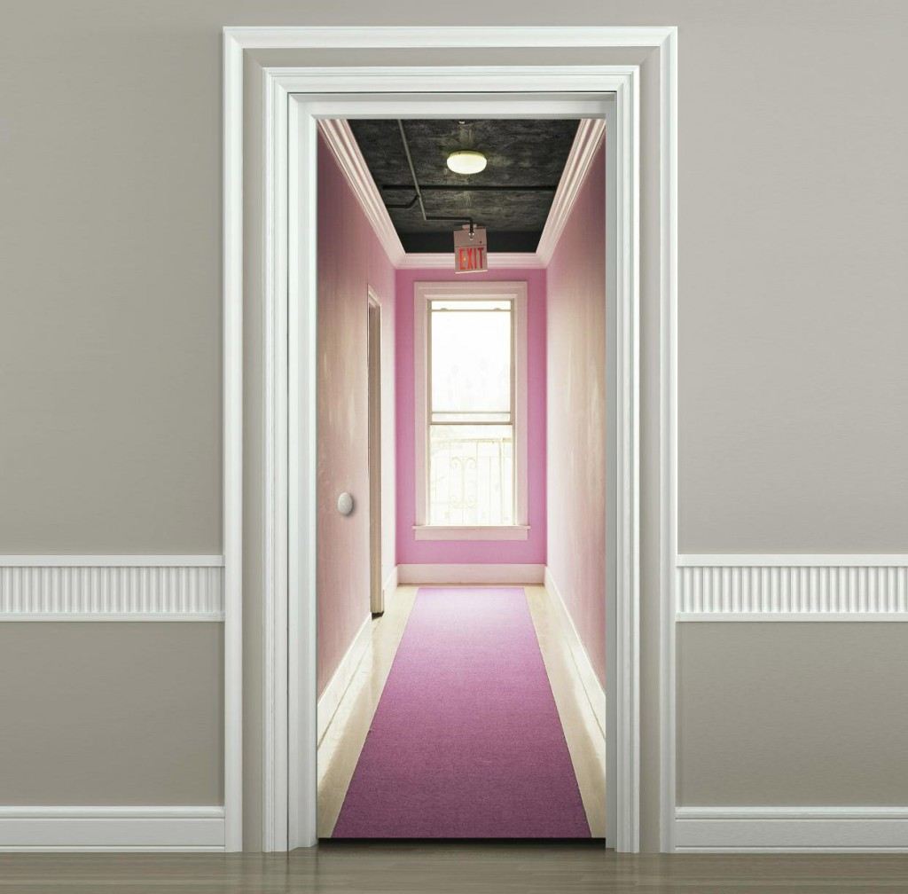 un nouveau papier peint magn tique pour porte forumbrico. Black Bedroom Furniture Sets. Home Design Ideas