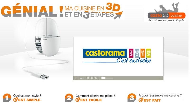 Un Nouveau Logiciel Pour Creer Sa Cuisine Casto 3d Cuisine