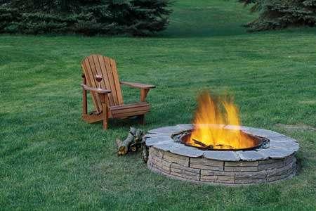 Fabriquer Une Cheminée De Jardin à Foyer Ouvert Blog Conseils - Construire un foyer exterieur en pierre