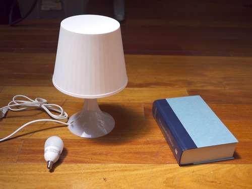 Fabriquer Une Lampe Livre Forumbrico