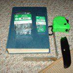 Matériel pour fabriquer étagère livre