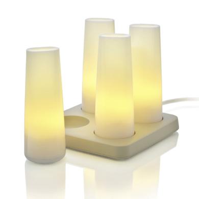 Lampes nomades à recharger