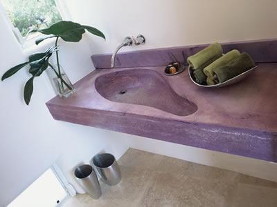 Sol en b ton cir mode d emploi conseils et astuces for Lavabo en beton cire