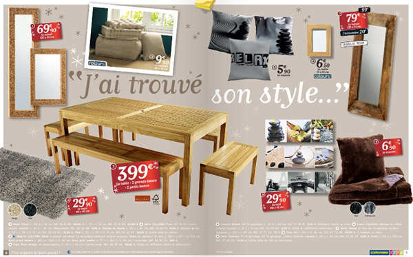 catalogue castorama id es cadeaux de no l blog conseils. Black Bedroom Furniture Sets. Home Design Ideas
