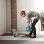 Pose de revêtement de sol en vinyle facile