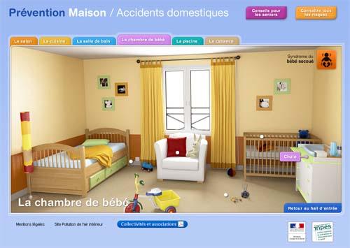 site internet inpes prévention maison