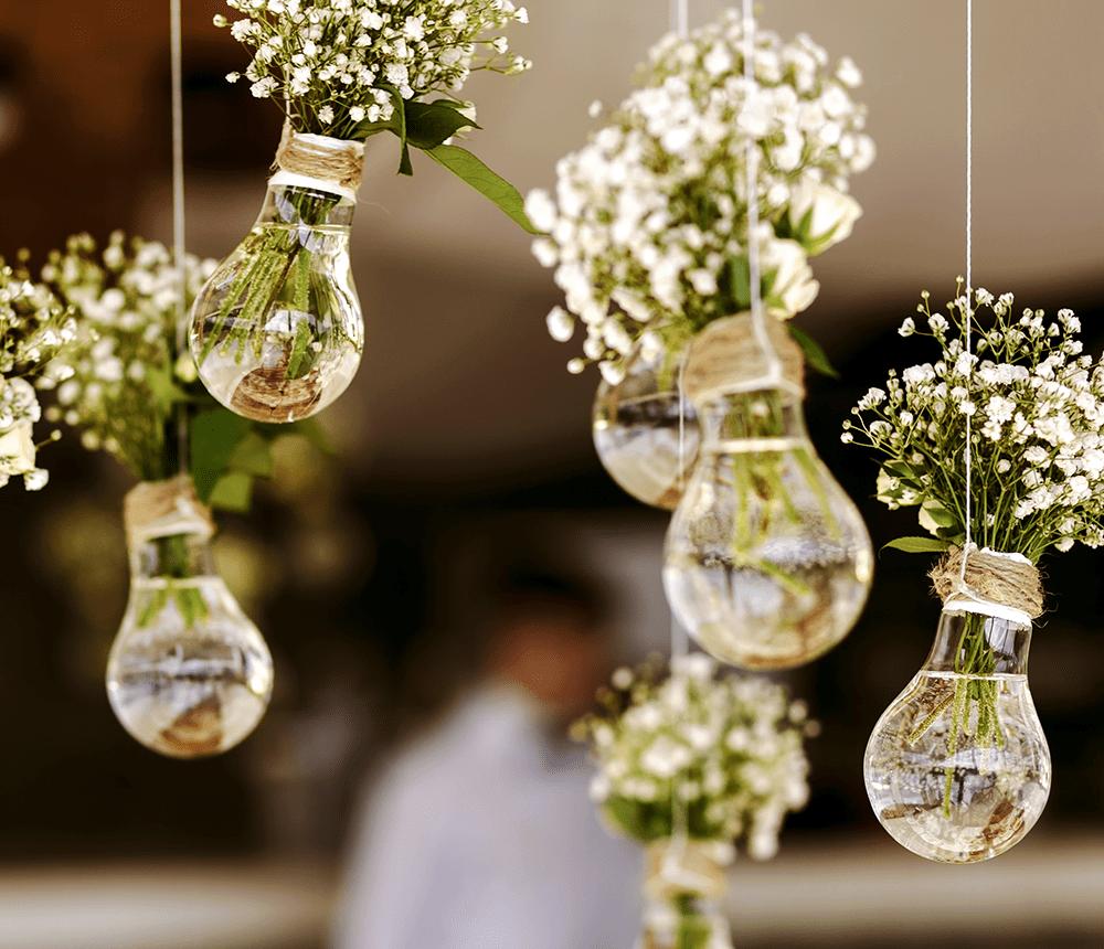 vase dans ampoule