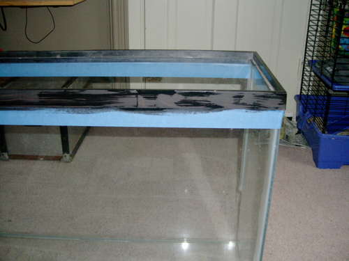 Fabriquer une table basse lumineuse design forumbrico - Table basse aquarium design ...