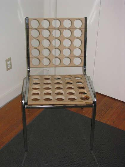 perçage de la chaise