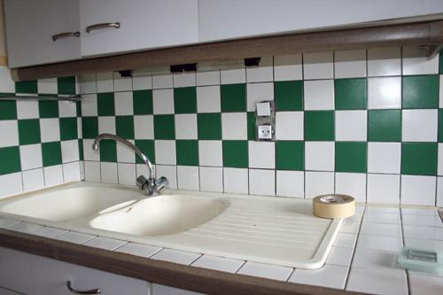 Peinture carrelage salle de bain pas chere for Peinture sans sous couche carrelage