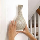 Accrocher vase mural