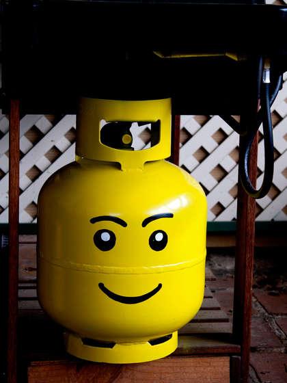 Lego bouteille de gaz