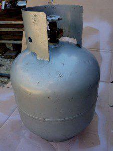 Peindre bouteille gaz