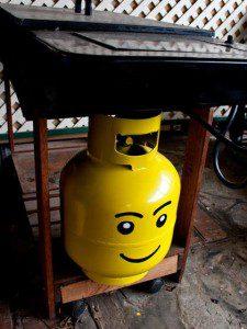 Réinstaller bouteille de gaz