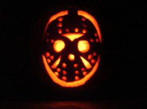 Citrouille Halloween Vendredi 13