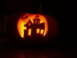 Citrouille maison Halloween