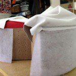 Mousse pouf pacman