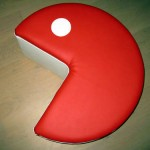 Pouf Pacman fabrication