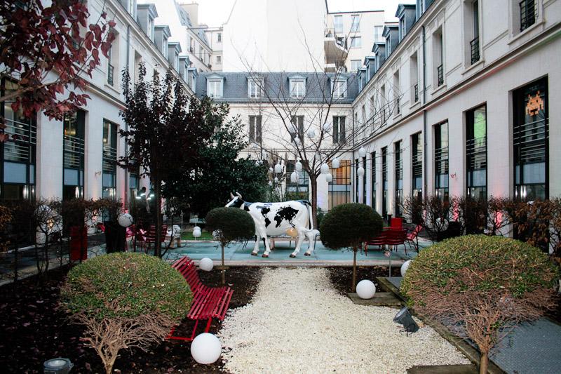 Bureau google paris hotel particulier