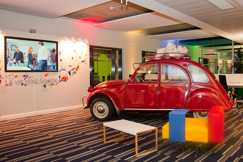Locaux Google 2CV Paris