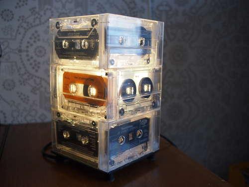 Lampe cassette audio
