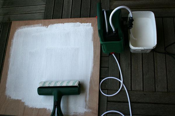 Peindre au rouleau électrique