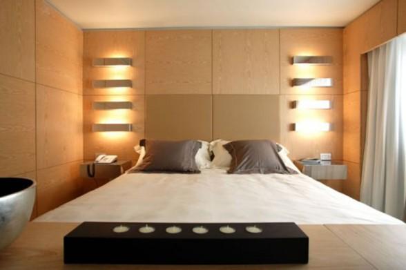 Eclairage chambre à coucher