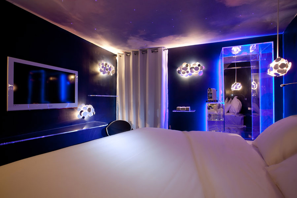eclairage chambre ado black light bedroom design ideas - Eclairage Chambre Ado
