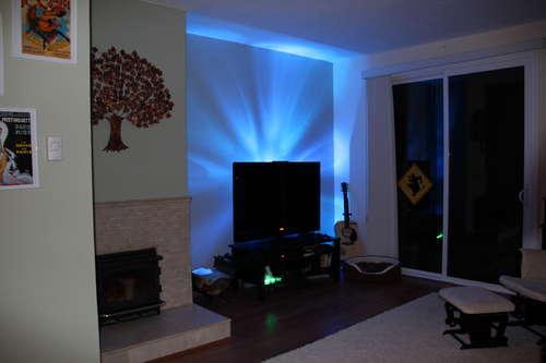 LED derrière Télévision