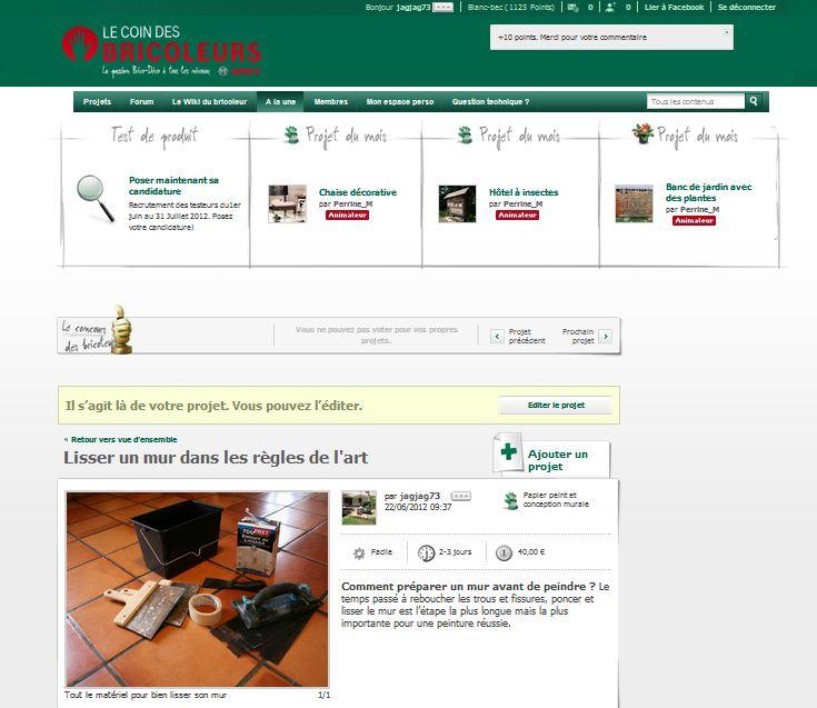 le coin des bricoleurs lancement du site avec cadeaux. Black Bedroom Furniture Sets. Home Design Ideas
