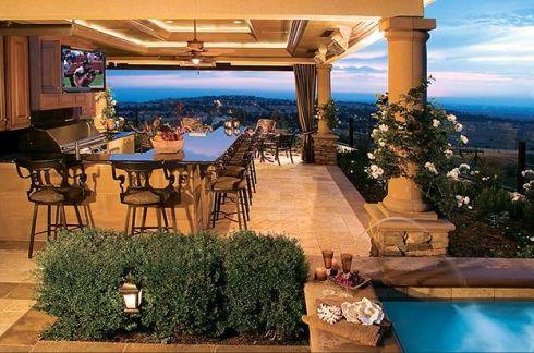 Concevoir une cuisine d 39 t ext rieure conseils et - Photo cuisine exterieure jardin ...