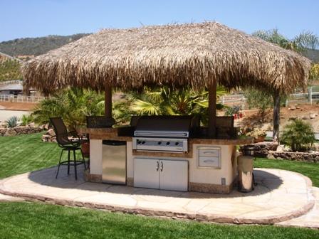 cuisine d'été hutte