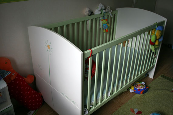 Lit bébé évolutif Sauthon