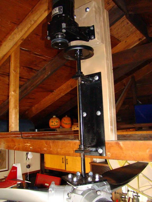 Support ventilateur de plafond