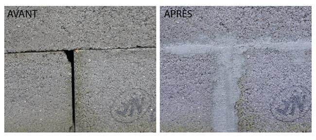 Ciment Express en cartouche