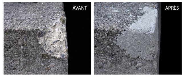 Ciment en cartouche