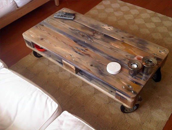 Palette table basse