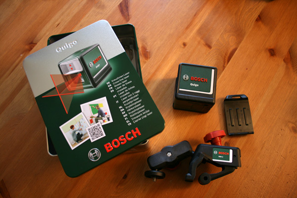 Bosch-Niveau-laser-Croix-Quigo