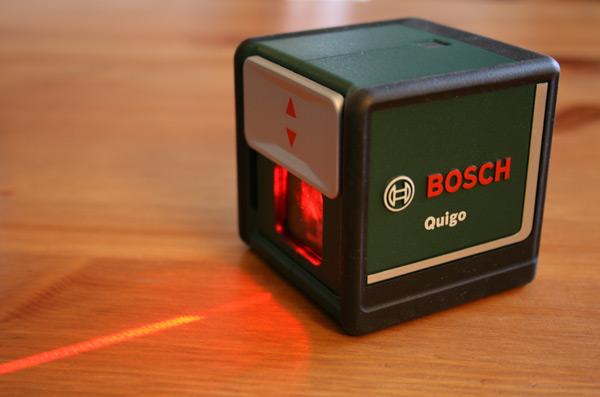 niveau laser quigo de bosch test et avis blog conseils astuces bricolage d coration. Black Bedroom Furniture Sets. Home Design Ideas