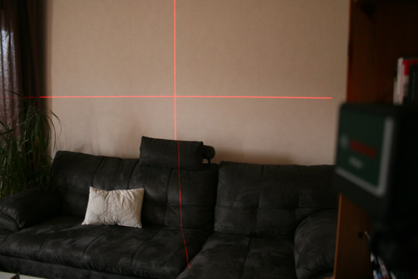 Croix laser niveau Bosch Quigo